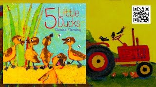5 Little Ducks by Denise Fleming (Official Book Trailer)
