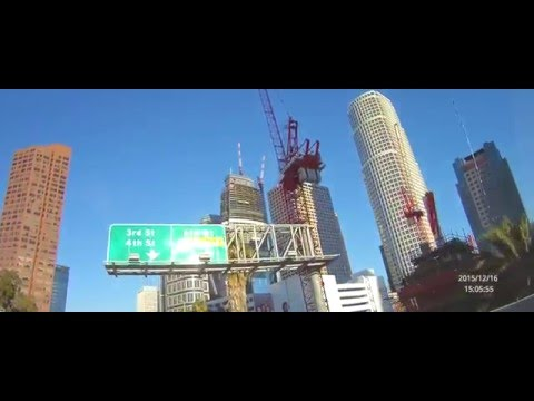 Downtown Los Angeles | Building Construction 2015 | Future Tallest Tower in The West