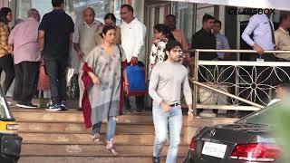 Vicky Kaushal, Tabu & Others Visits Hospital to meet Shabana Azmi   CELEBSBOX
