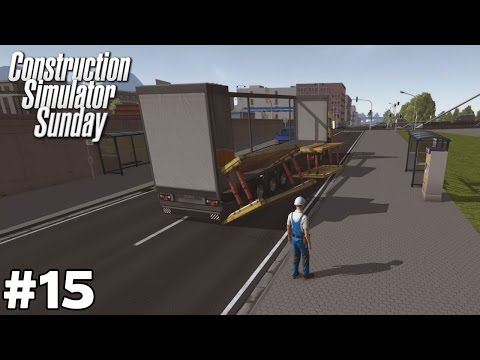 New Truck and Unsecured Load - Development Area [Part 1 of 2] - Construction Simulator Sunday [ep15]