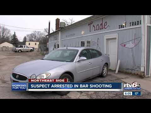 Man arrested for allegedly shooting 5 people at Indianapolis bar