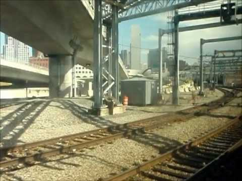 MBTA Commuter Rail Ride: Route 128 to South Station