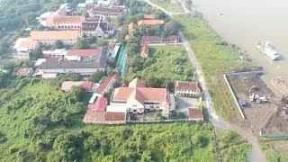 FLYCAM  Toàn cảnh khu đất ngàn tỷ xây nhà hát Thủ Thiêm