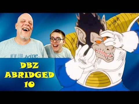 "REACTION TIME | ""DBZ Abridged 10"" - This Is REALLY Getting Good Now!"