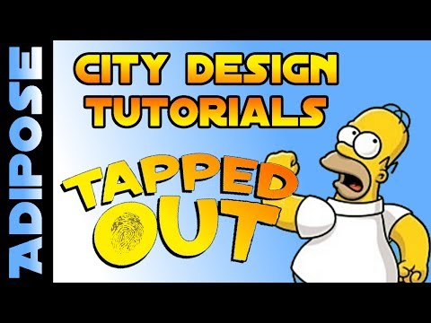 Simpsons Tapped Out  The Best of the Best  City Design