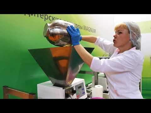 ДИВоБлог: Загрузка теста для кексов в бункер Депозитора  MAGNUM XL