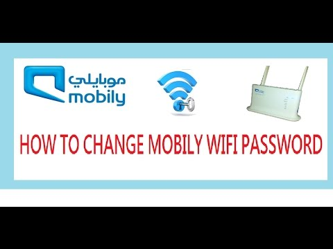How To Change Wifi Password In Mobily Wifi Router