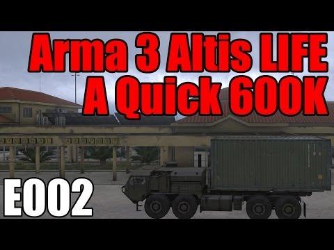 arma 3 altis life how to make money