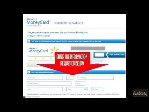 Walmart money card activate