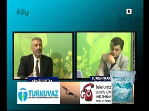 TURKUVAZ YARASA GÜBRESİ LTD. ŞTİ. KÖY TV RÖPORTAJI BÖLÜM-2