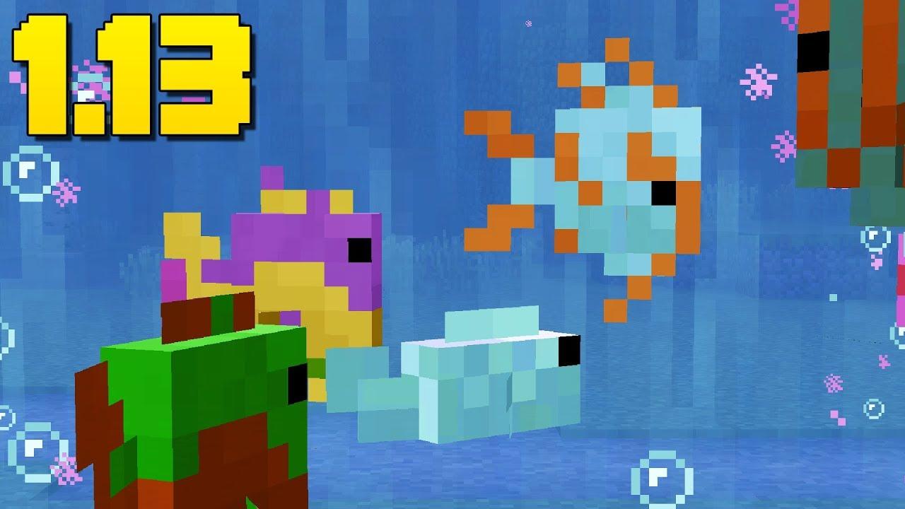 WORKING Aquariums! (Feed Fish) Minecraft 9.93 Snapshot