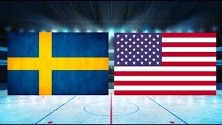 Sverige mot USA (6-0) – Maj. 19, 2018 | Höjdpunkter/Mål | Hockey VM 2018 SemiFinal