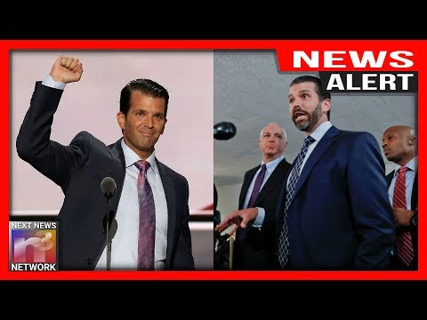 ALERT: Don Jr. Comes Out ALIVE From Closed Door Testimony, Sets The Record STRAIGHT For Reporters
