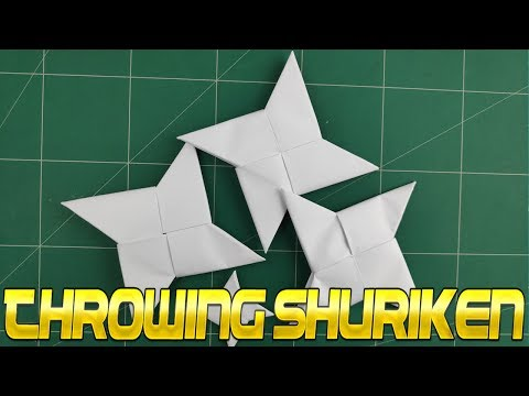 DIY Paper WeaponsToy Model | How To Make a Paper Ninja Star - Origami Easy Tutorials