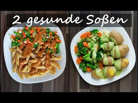SOßEN SELBER MACHEN</br>2 gesunde Soßen Rezepte!