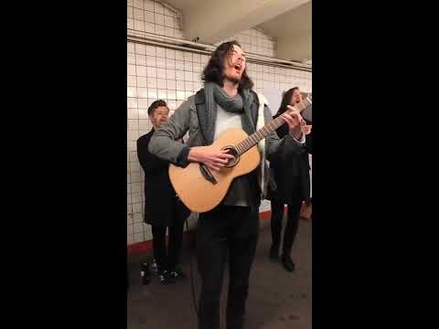 "Hozier - ""Almost (Sweet Music)"" Live In The NYC Subway"