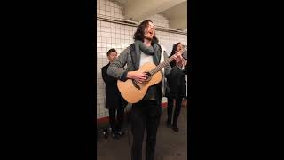 Hozier Almost Sweet Music Live In The NYC Subway.mp3