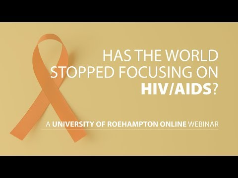 Webinar: Has the world stopped focusing on HIV and AIDS?