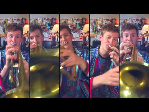 Mii Channel Theme For Brass Quintet But It Goes On For 4 Hours And 20 Minutes
