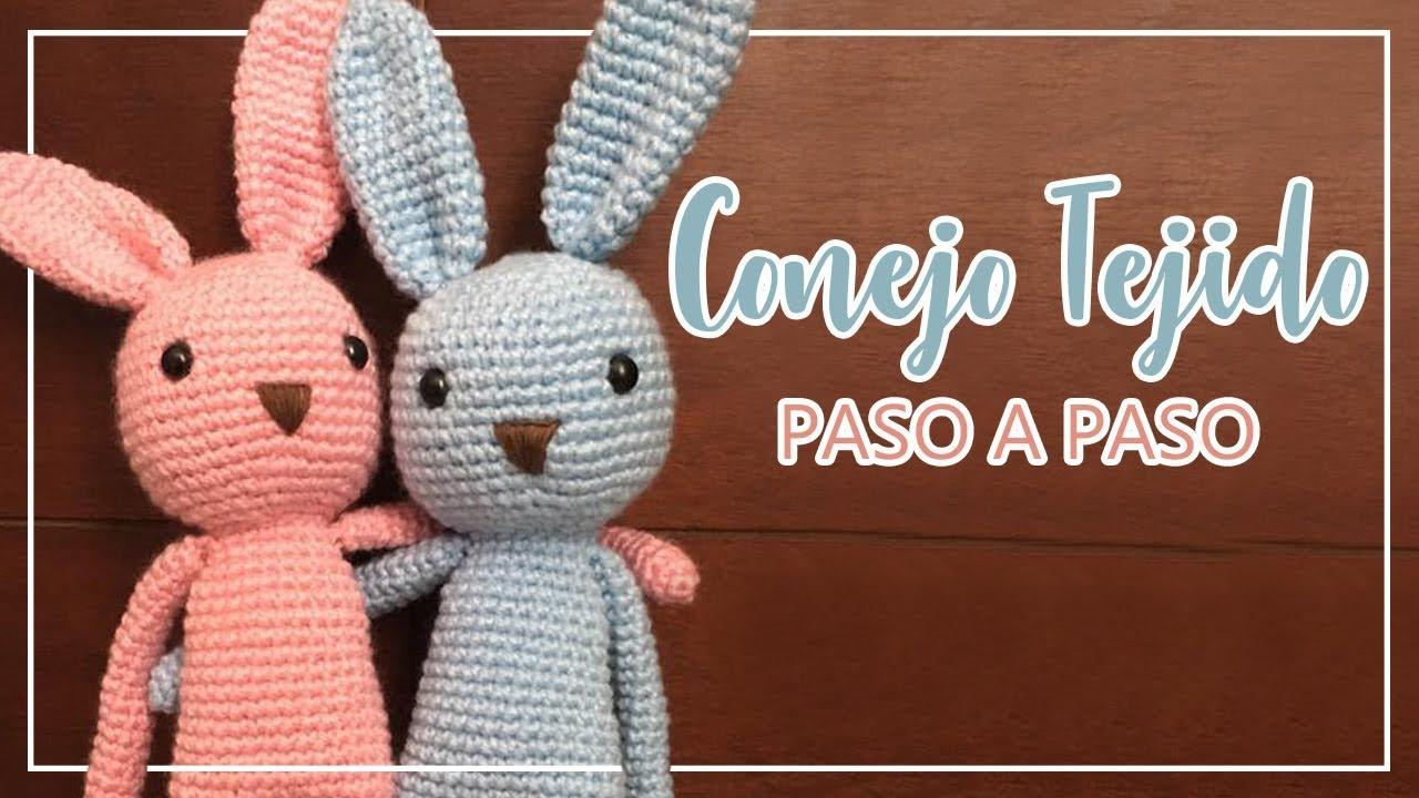 1e423d8b0 ➤ Conejo tejido | Paso a paso | Fácil