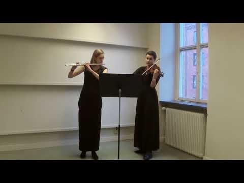 Telemann D major sonata for flute and violin - Dolce