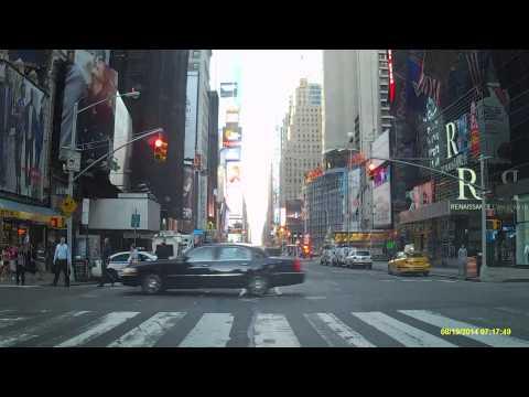 Driving in Manhattan