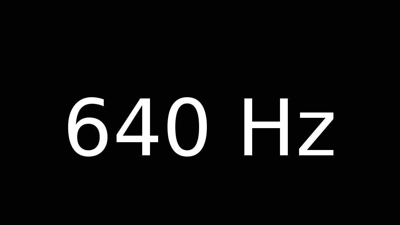 640 Hz