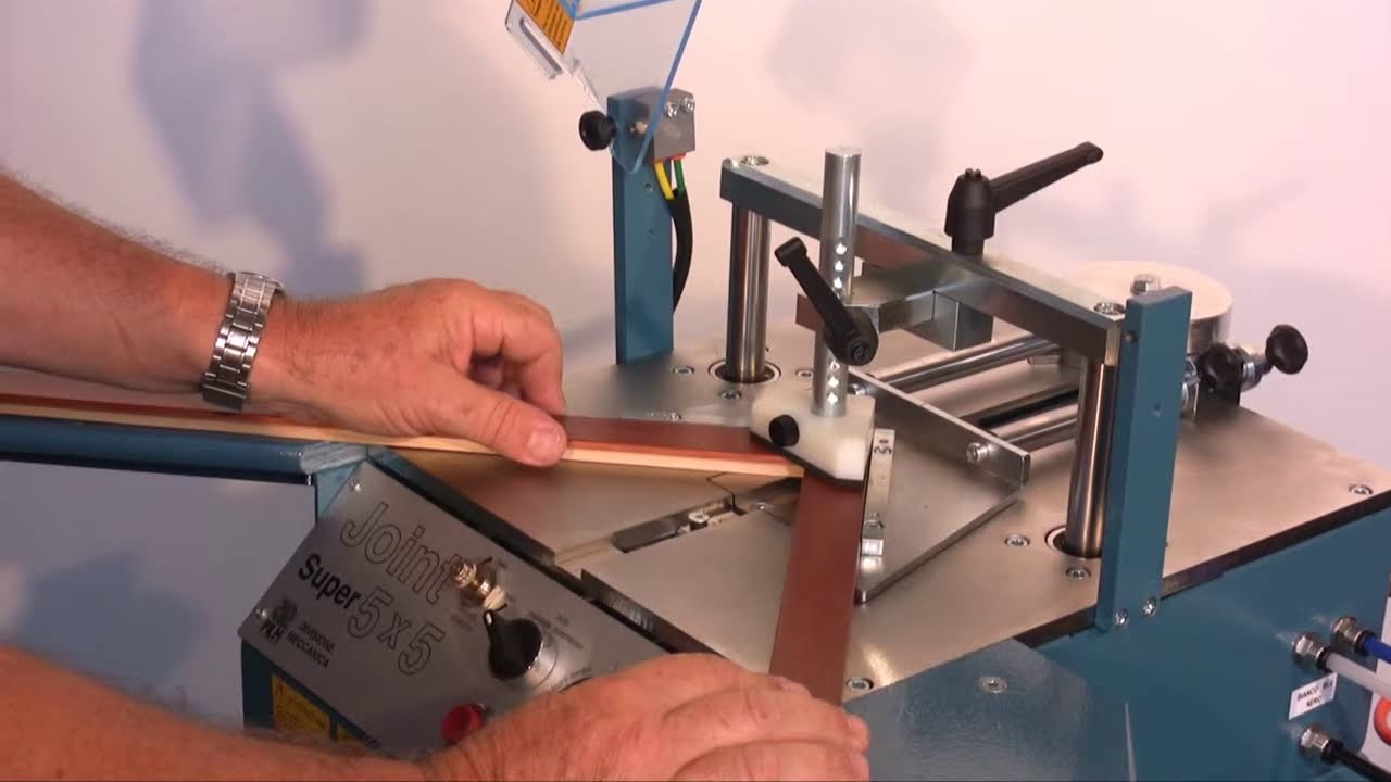 Rahmenheftmaschine Joint 5x5A und Joint 5x5 Super - YouTube