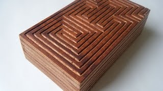 The maze puzzle box