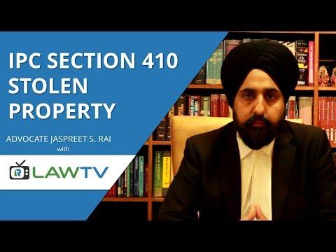 Indian Kanoon   IPC Section 410 Stolen property   आईपीसी धारा 410 चुराई सम्पत्ति   LawRato