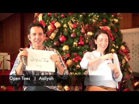 Holiday Fun! The Fontanas Play the Newlywed game