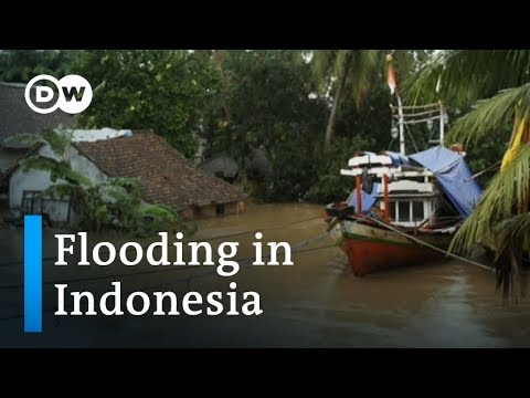Indonesia floods: First came the tsunami, then came the rain