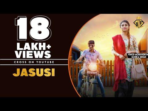 Jasusi | Vinod Morkheriya | Sonika Singh | Farista | Latest Haryanvi Song 2019 Hostel | Mg Records