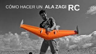 Cómo hacer un ala volante a radiocontrol | Ala Zagi