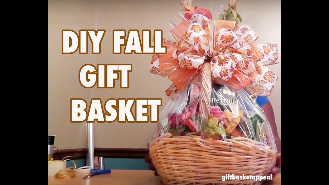 Diy gift basket for fall season giftbasketappeal youtube negle Gallery