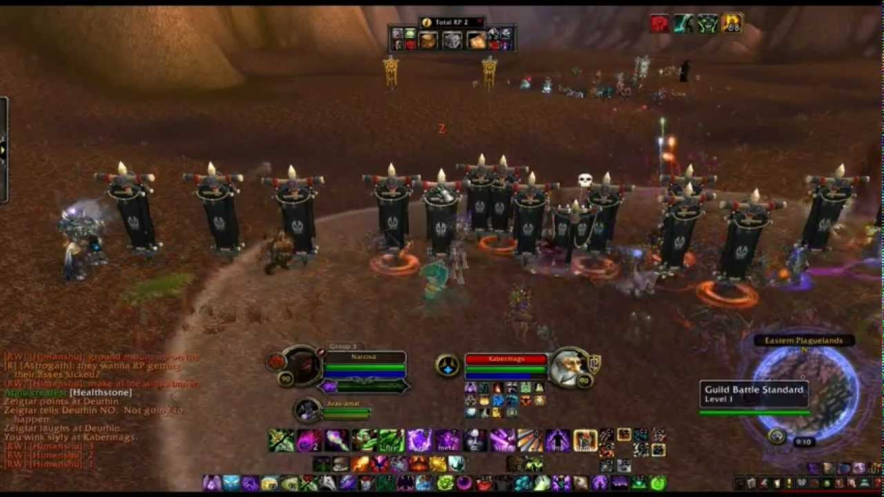 Warsong Battalion And Clan Battlehammer WPvP RP Style