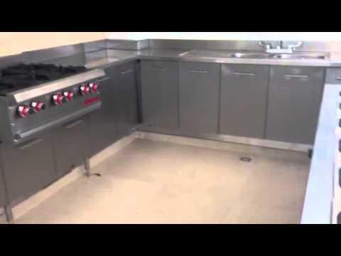 Cocina acero inoxidable youtube - Muebles de cocina de acero inoxidable ...