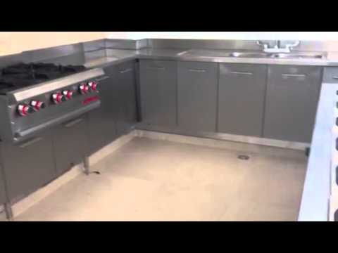 Cocina acero inoxidable youtube - Laminas de acero inoxidable para cocinas ...