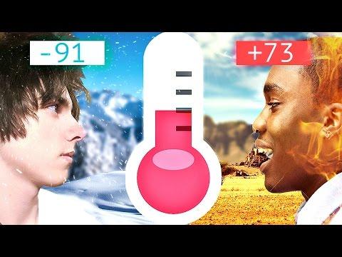 Топ 10: Самые холодные и жаркие места на Земле
