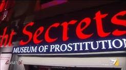 Amsterdam, prostitute in vetrina