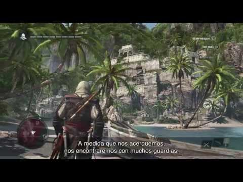 Assassin's Creed 4 Black Flag: Gameplay [español 1080p] - Barcos, combates... Tráiler oficial
