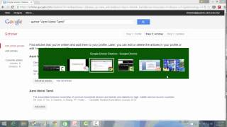 How to register for Google Scholar