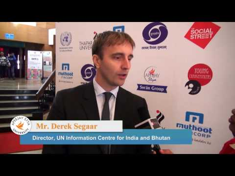 Derek Segaar, Director, UN Information Centre for India and Bhutan