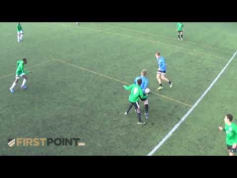 London Hive -  Blue Vs Red - Soccer Scholarship