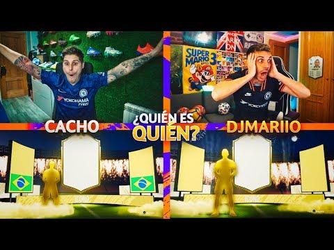 NOS TOCAN 2 ICONOS EN QUIEN ES QUIEN VS DJMARIIO!! | FIFA 20