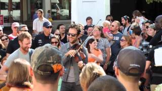 dierks bentley band fiddler solo annapolis md 05 september 2014