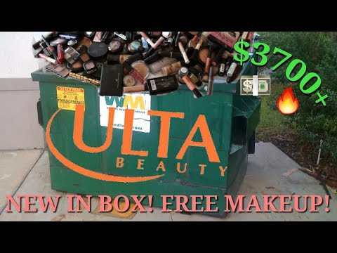 $3,700+ HUGE ULTA DUMPSTER DIVING HAUL! BRAND NEW IN BOXES! (insane...)