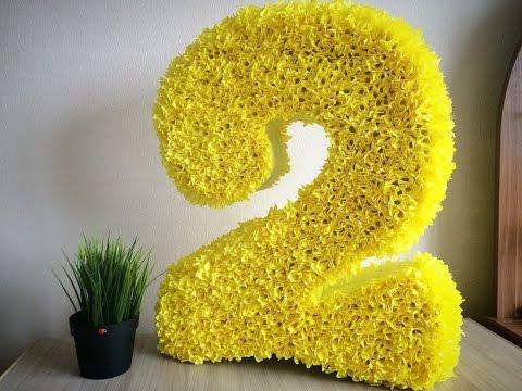Цифра 2 ко дню рождения