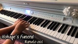 Gambar cover 호카게의 장례식 - 나루토 ost 피아노 Naruto ost Hokage's Funeral pianocover #sadmusic #naruto #hokage #나루토ost