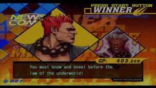 Capcom vs SNK 2 Mark of the Millennium 2001 - Shin Akuma and Akuma